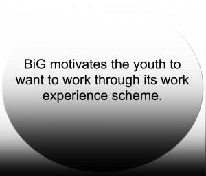 Work experience scheme