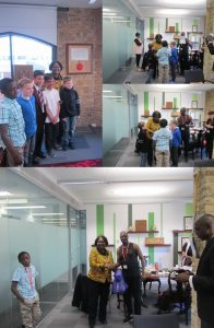 Pictures with the Mayor of Southwark